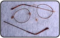 Eyeglasses Before Repair